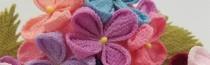 STEP教室『つまみ細工教室 季節の花々』